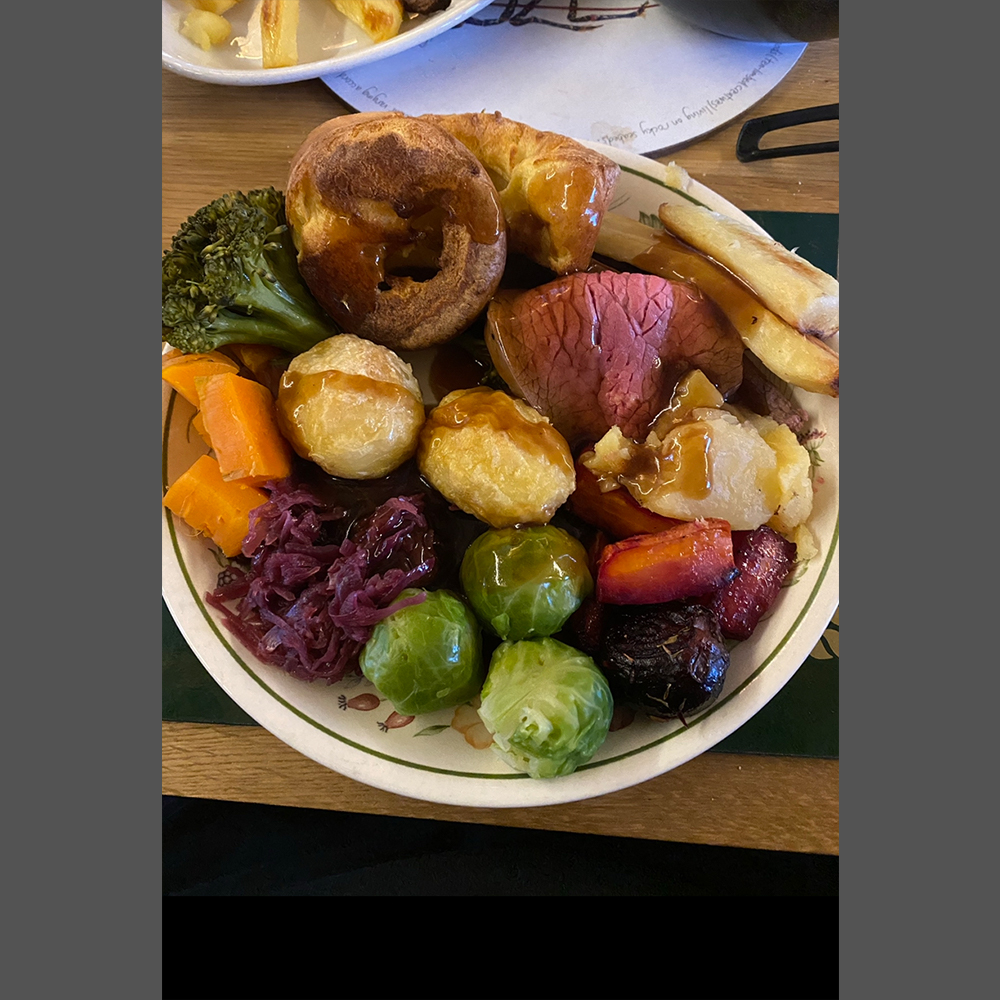 Sunday roast and all the trimmings