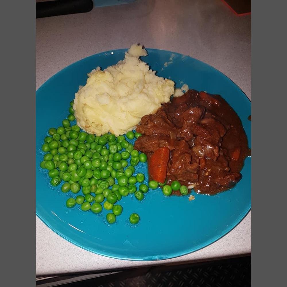Highland beef stew